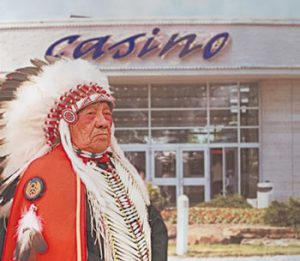 Gambling Laws Indian guy standing in front of casino